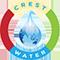 Crest Water logo
